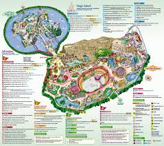 Orlando Theme Parks Map by Lotte World Thrillz The Ultimate Theme Park Review Site