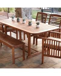 Good Wood For Outdoor Furniture by Check Out These Scary Good Bargains On We Furniture Acacia Wood