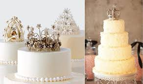 crown cake toppers antique crown cakes cake magazine