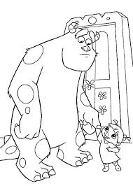 monsters inc coloring pages for kids coloringstar