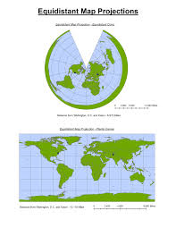 Map Projection Geography 7 Introduction To Geographic Information Systems