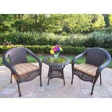 Rattan Bistro Table Furniture Fabulous Wicker Bistro Set For Your Outdoor Decor