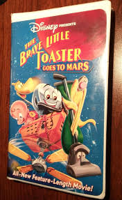 Brave Little Toaster Movie The Brave Little Toaster Goes To Mars Vhs 1998 Clam Shell Ebay