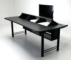 Computer Desk For Two Monitors Computer Desk For Monitors Getanyjob Co