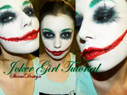 halloween makeup smile joker makeup tutorial youtube