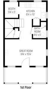 Floor Plan Bed Bungalow Style House Plan 1 Beds 1 Baths 841 Sq Ft Plan 64 123