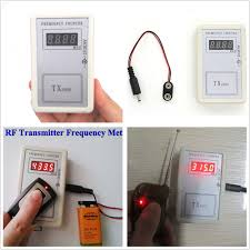 lexus key fob frequency frequency detector tester counter for car key remote control fix