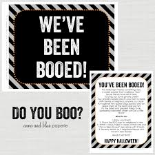 anna and blue paperie free printable we u0027ve been booed
