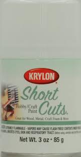 Krylon Short Cuts Spray Paint - krylon 3 oz gloss white short cuts spray paint set of 6