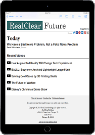 realclear media group newsletters