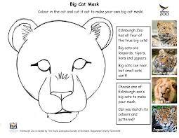 leopard mask template google kids u0027 stuff