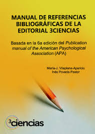 manual de referencias bibliográficas de la editorial 3ciencias