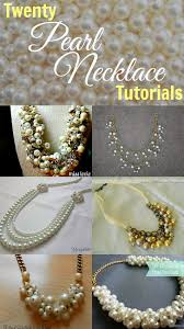 jewelry making pearl necklace images Twenty pearl necklace tutorials my girlish whims jpg