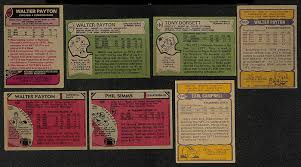 lot detail lot of 500 1977 1980 topps football cards w walter