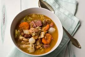 gluten free corned beef and cabbage bean soup recipe