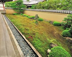 moss covered japanese zen garden ryogin tei