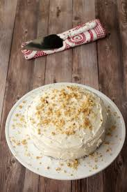 moist vegan carrot cake with lemon buttercream frosting loving