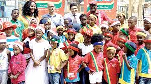 club thrills children at christmas party in lagos u2014 news u2014 the