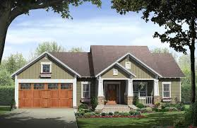 Ranch House Plans With Wrap Around Porch Craftsman House Plans Goldendale 30 540 Associated Designs