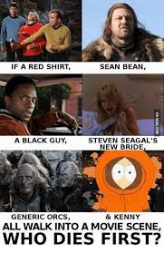 Stuff And Things Meme - 25 best memes about red shirt red shirt memes