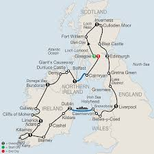 Map Of Ireland And England by Scotland England U0026 Ireland Tours Globus Tours