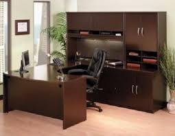 U Shaped Office Desk U Shaped Office Desk With Hutch Bush Cor053
