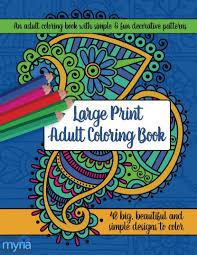 large print coloring book 1 big beautiful u0026 simple