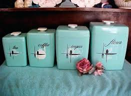 kitchen canister sets vintage retro kitchen canister sets vintage metal kitchen canister sets