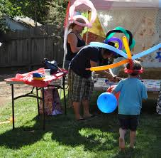 party on a budget backyard carnival party catch my party