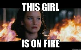 Fire Girl Meme - this girl is on fire girl on fire quickmeme