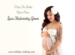 make your own lace maternity gown a photographer u0027s dream