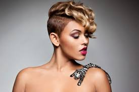 short black hair styles that have been shaved short half shaved hairstyles for black women medium hair styles