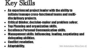 Skill Examples For Resumes by Skills And Abilities Resume Examples Berathen Com