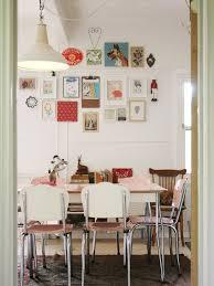 Pink Dining Room Chairs Kitchen Retro Kitchen Dining Chair And Table Pink Dining Table
