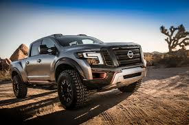 nissan titan quick lift nissan titan warrior concept previews a raptor competitor sae