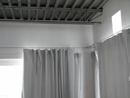 Corner Drapery Hardware How To Diy Your Very Own Ikea Style Custom Curtain Cable System I