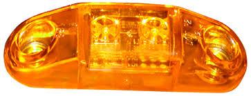 led mini marker lights piranha led m168a amber slim line clearance side marker lights