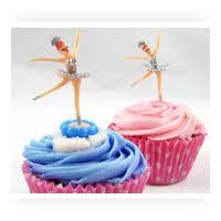 Ballerina Decorations Cupcake U0026 Cake Decorations From Fancy Flours
