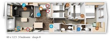 willerby granada 2016 40x12 5 3bed floor plan willerby granada