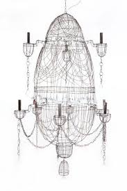 Wire Chandeliers 273 Best Wire Chandeliers Images On Pinterest Chandeliers Wire