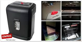 the staples 10 sheet cross cut shredder u0026 5 ways to reuse shredded