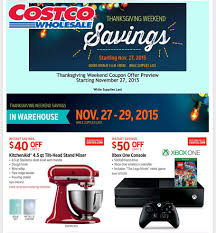 xbox one thanksgiving deals costco u0027s full black friday 2015 ad leaked everything you need to know