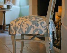 How To Make Seat Cushions For Dining Room Chairs Kitchen Chair Slipcovers So I Can Save My Chairs From My And