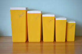 yellow kitchen canisters u2013 kitchen ideas