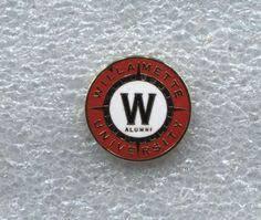alumni pin willamette logo willamette