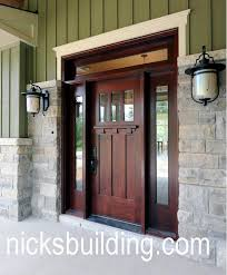 Shaker Style Exterior Doors Shaker Style Doors Nicksbuilding