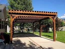 Swing Pergola Outdoor Patio Pergola Swing Outdoor Designs