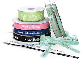 personalize your gift packaging with custom printed ribbon from