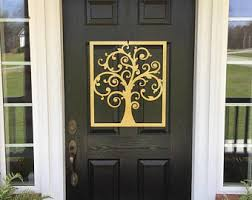 Front Door Metal Decor Tree Of Life Door Hanger Tree Art Front Door Wreaths Door