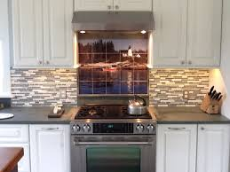 Kitchen Mural Backsplash Custom Tile And Tile Murals